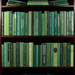 Jane: Greenish Bookshelf